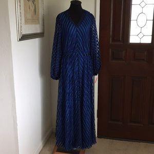 Vintage hand made maxi dress